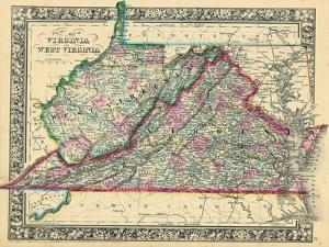 1864, United States, Virginia, West Virginia, North America, Virginia, West Virginia