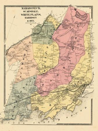 Maps Of North America Posters At AllPosterscom - 1867 us map