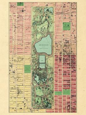 1867, New York City, Central Park Composite, New York, United States
