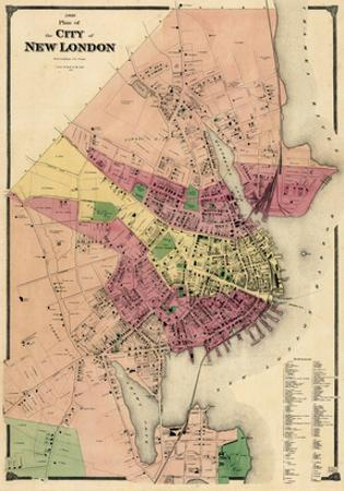 1868, New London City, Connecticut, United States