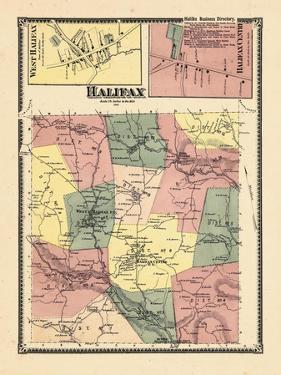 1869, Halifax, Halifax Town West, Halifax Center, Vermont, United States