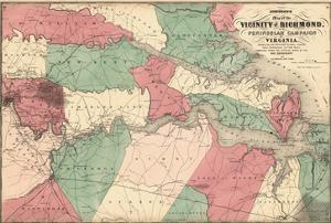 1869, Richmond Vicinity and Peninsular Campaign, Virginia, United States