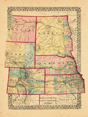 1870, Colorado, Kansas, Montana, Nebraska, North Dakota, South Dakota, Wyoming