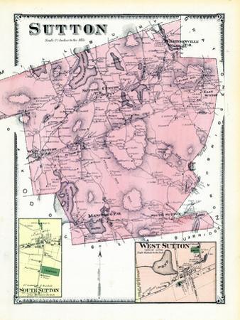 1870, Sutton, Sutton South, Sutton West, West Sutton, Massachusetts, United States