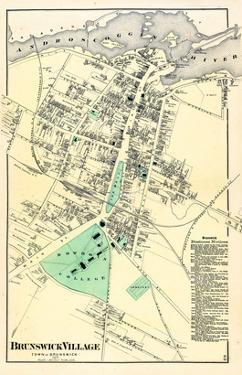 1871, Brunswick Village, Maine, United States