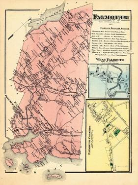 1871, Falmouth, Falmouth Corner, Falmouth West, West Falmouth, Maine, United States