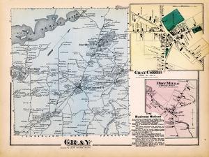 1871, Gray, Gray Corner, Dry Mills, Maine, United States