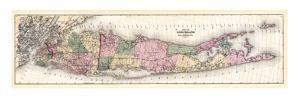 1873, Long Island Map, New York, United States