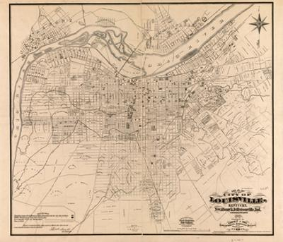 1873, Louisville, KY - New Albany and Jeffersonville, IN 1873, Kentucky, United States