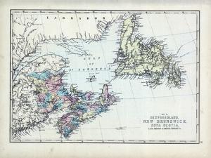 1873, Newfoundland, New Brunswick, Nova Scotia, Cape Breton, Prince Edward Island