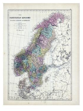 1873, Scandinavian Kingdoms, Norway, Sweden, Denmark