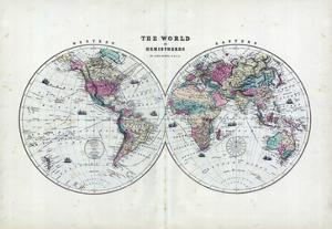 1873, The World in Hemispheres