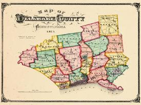 Affordable Maps of Delaware Posters for sale at AllPosters.com