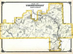 1875, Thornbury Township, Glen Mills P.O. Cheyney P.O., Thornton P.O. Mill Pond, Pennsylvania, Unit