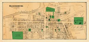 1876, Bloomsburg 1, Pennsylvania, United States