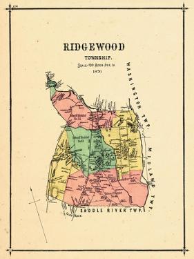 1876, Ridgewood Township, New Jersey, United States