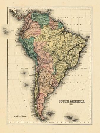 1876, South America