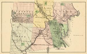 1877, Glenwood Plantation, Haynesville, Orient, Reed Plantation, Bancroft Plantation