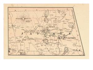 1877, Jaffrey Township, Monadnock Mountain, Long Pond, New Hampshire, United States