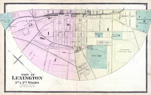 1877, Lexington - Wards 1 and 4, Kentucky, United States