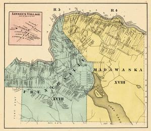 1877, Linneus Village, Frenchville, Madawaska, Maine, United States