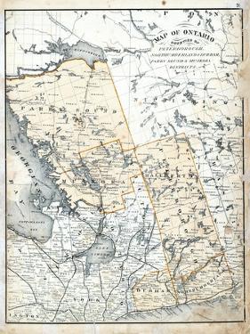 1879, Ontario Counties, Canada