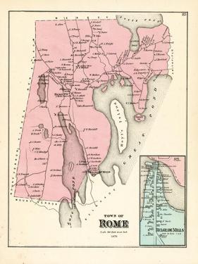 1879, Rome, Belgrade Mills, Maine, United States