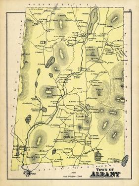 1880, Albany Town, Maine, United States