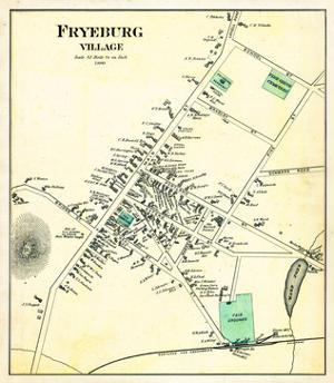 1880, Fryeburg Village, Maine, United States