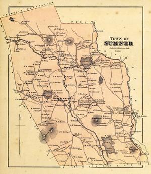 1880, Sumner Town, Maine, United States