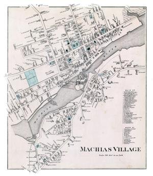 1881, Machias Village, Maine, United States