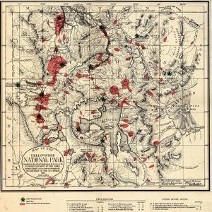 1881, Yellowstone National Park 1881, Wyoming, United States