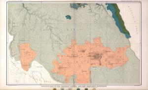 1882, Grand Canyon - Sheet XXIII - The Colorado Plateau and San Francisco Mountains, Arizona, Unite