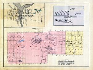 1882, Sebec Village, Sebec Cor, Shirley, Elliottsville, Maine, United States