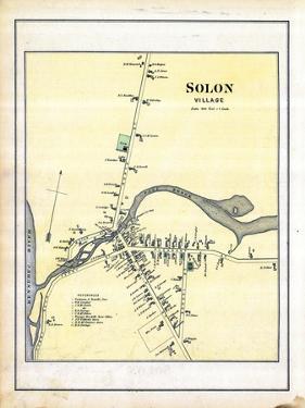 1883, Solon Village, Maine, United States