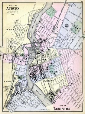 1884, Auburn City, Lewiston City, Maine, United States