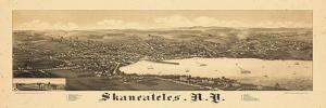 1884, Skaneateles 1884 Bird's Eye View, New York, United States