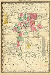 Affordable Maps of New Mexico Posters for sale at AllPosters.com