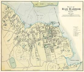 Affordable maps of maine posters for sale at allposters 1887 bar harbor 1887 maine united states freerunsca Image collections