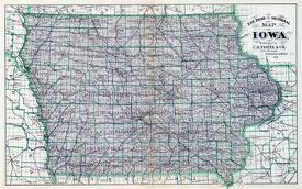 Affordable Maps of Iowa Posters for sale at AllPosters com