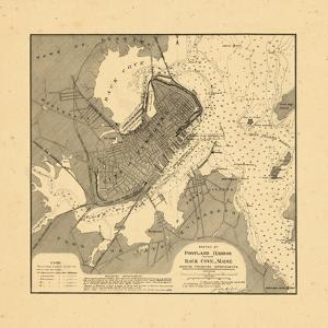 1887, Portland Harbor, Maine