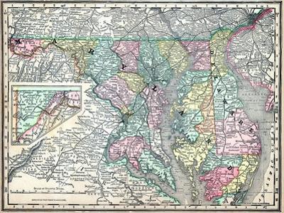 1890, United States, Delaware, Maryland, North America, Maryland, Delaware