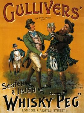 1890s UK Gulliver's Poster