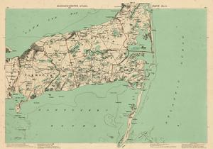 1891, Cape Cod, Barnstable, Orleans, Brewster, Harwich, Chatham, Dennis, Yarmouth, Massachusetts