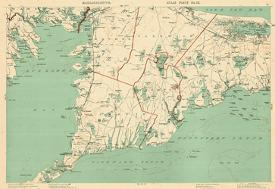 Affordable Maps Of Cape Cod Ma Posters For Sale At Allposterscom - Cape-cod-on-us-map