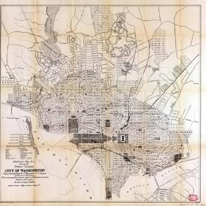1891, Street Grades, District of Columbia, United States