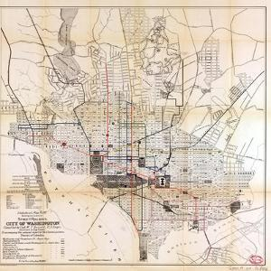 1891, Street Railways, District of Columbia, United States