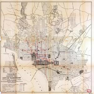 1891, Underground Cables, District of Columbia, United States