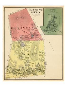 1892, Ellsworth and Rumney, Rumney Town, New Hampshire, United States