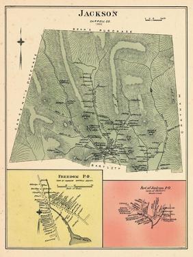 1892, Jackson, Jackson Town, Freedom, New Hampshire, United States